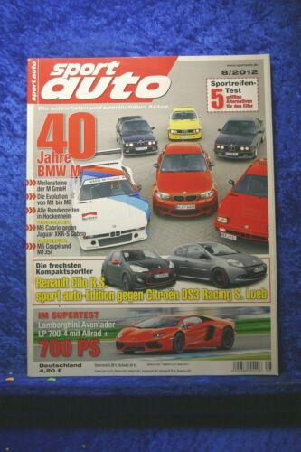 Sport Auto 8//12 C 63 AMG Black Series Mini JCW Peugeot RCZ 200 THP Aventador LP