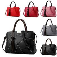 Women Handbag Shoulder Bags Tote Purse PU Leather Ladies Messenger Hobo Bag New
