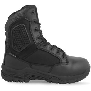 Magnum-Strike-Force-8-Police-Security-Waterproof-Side-Zip-Boots-Black-ALL-SIZES