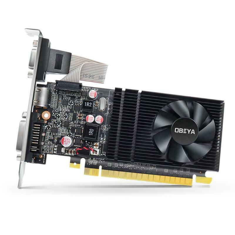 for NVIDIA G210 1GB 64Bit DDR3 Low Profile Half-height Computer Graphics Card