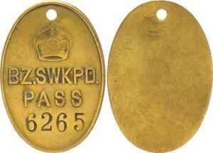 Eingeborenen Passmarke No.6265 Bezirk Swakopmund Pass MBC (49822)