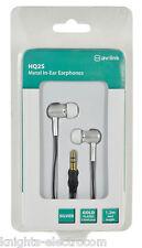HIGH QUALITY METAL IN-EAR EARPHONES 3.5mm Stereo 10mm neodymium speakers