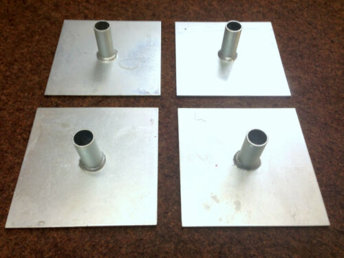 Zinc Plated for Corrosion Rust Resistance 4-48 off Scaffold Tower Base Plates