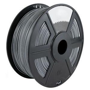 Gray-3D-Printer-Filament-1kg-2-2lb-1-75mm-PLA-MakerBot-RepRap