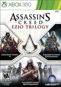 NEW-Assassin-039-s-Creed-Ezio-Trilogy-Edition-Microsoft-Xbox-360-2013-NTSC