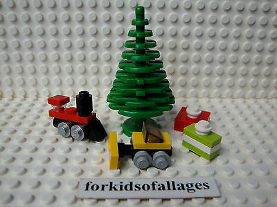 Lego Pieces: Christmas Tree w/Toys & Gifts Holiday Presents