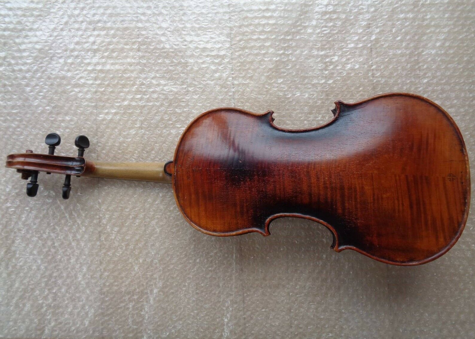Geige Violine ca. 59,2 cm Korpus ca. 35,8 cm Full Größe Brandstempel Ole Bull