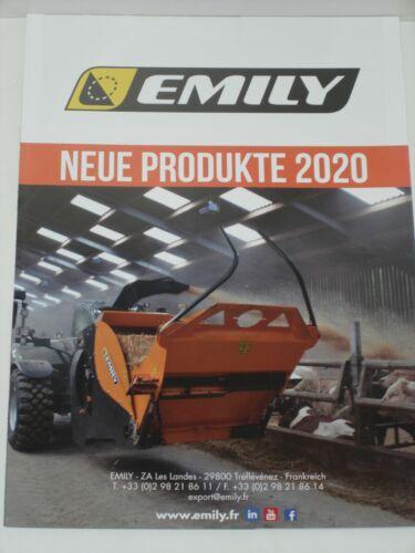 Ballenauflöser EMILY Neue Produkte 2020 Einstreumaschinen Prospekt 511