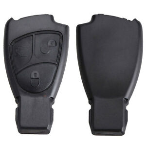 KE-FT-3-Button-Remote-Key-Fob-Cover-for-Mercedes-Benz-C-B-E-Class-CLS-CLK-SL