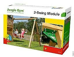 Gyngestativ, Jungle Gym, Jungle Gym med 2 gynger. Pakken…