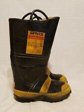 Servus Firebreaker Boots Protective Footwear Structural Firefighting Sz 9 Mens