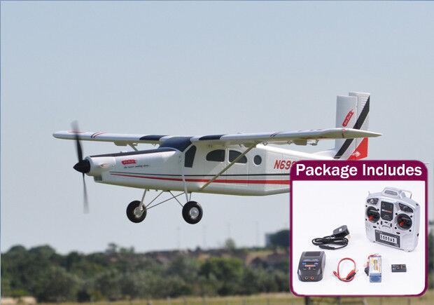 Century UK Pilatus PC-6 Turbo Porter Big Electric Model Aero Plane Ready To Fly
