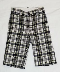 1860d5682 Janie And Jack 6-12 Months Plaid Pants Slacks EUC Baby Boy | eBay