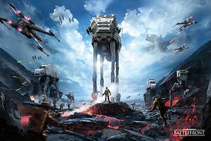 War Zone 61cm x 91.5cm - Maxi Poster Star Wars Battlefront PP34021-469