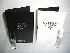PRADA Set La Femme + L´Homme Eau de Parfum / Toilette Duft Probe 1,5 ml Samples