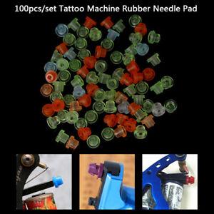 100Pcs-Bag-Colorful-Rubber-Grommets-Tattoo-Machine-Needles-Pad-Nipple-GrommetsBN