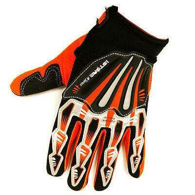 MOTORCYCLE MOTOCROSS MX BMX BIKE TEXTILE GLOVES BLACK BLUE GREEN ORANGE RED PINK