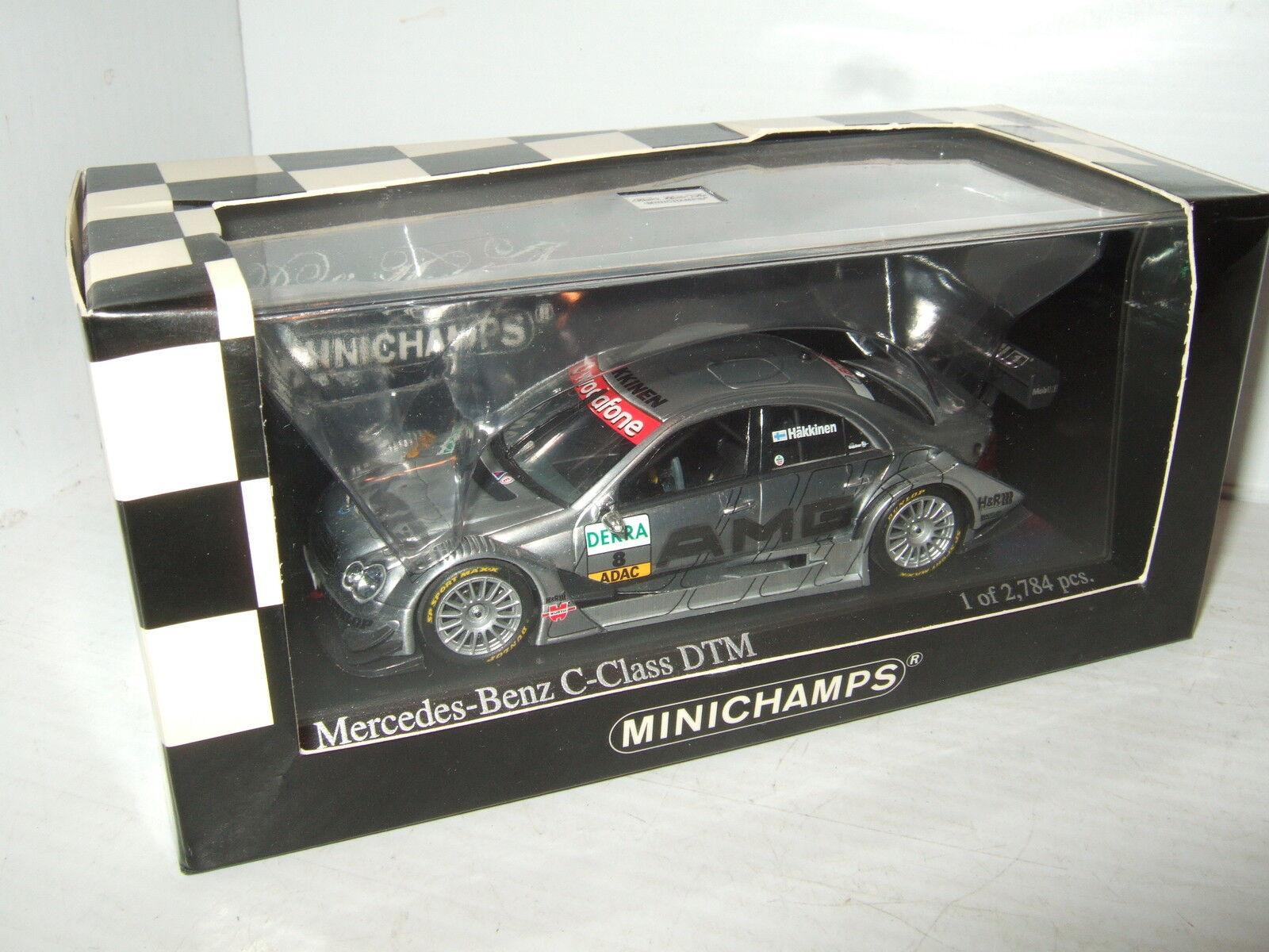 Rare New Minichamps Hakkinens Mercedes C Class DTM 2006 Diecast Model in 1 43