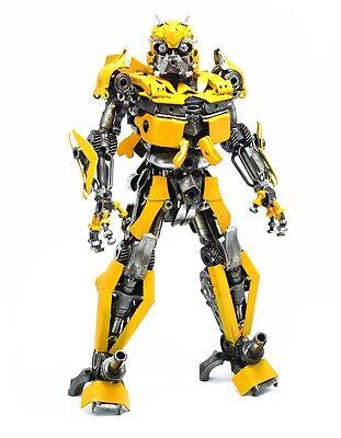"BUMBLEBEE 26"" Transformers Metal Art Sculpture Figure Handmade Scrap Car Parts"