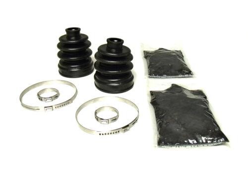 2000-2001 Yamaha Big Bear 400 4x4 Pair of Front Axle Inner /& Outer CV Boot Kits