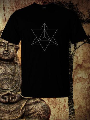 MERKABA SACRED GEOMETRY ANCIENT WISDOM T SHIRT NEW S M L XL 2XL 3XL