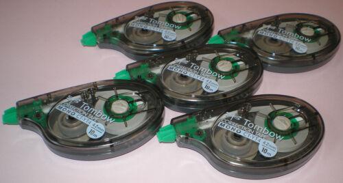 5x TOMBOW Korrekturroller CT-YT4 4,2mm x 10m Mono Correction Tape Tombo Roller