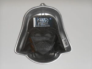 star wars cake pan new wilton wars darth vader character cake pan mold 7674