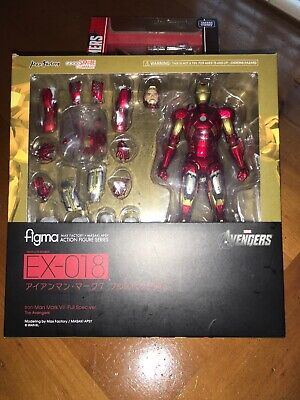 Age of Ultron Max Factory Figma No.217 MK7 Action Figure Iron Man Avengers