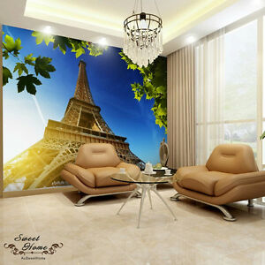 Eiffel Tower Huge Wallpaper Full Wall Mural Print Decal Wall Deco