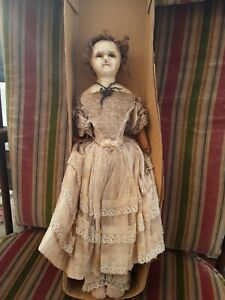 ANTIQUE-WAX-DOLL-14-034-tall