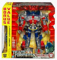 Transformers Rotf Optimus Prime Leader Class Exclusive With Bonus Camshaft