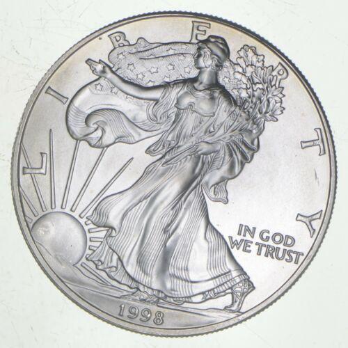 Better Date 1998 American Silver Eagle 1 Troy Oz .999 Fine Silver BU Unc