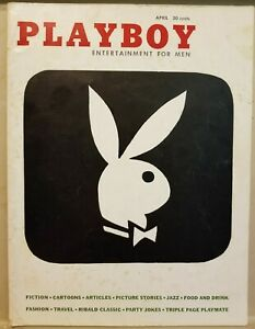 Playboy-April-1956-Very-Good-Condition-Free-Shipping-USA