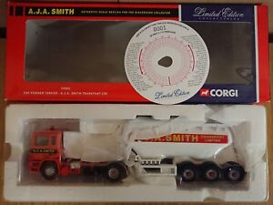 Corgi-74902-ERF-Powder-Tanker-A-J-A-Smith-Transp-Ltd-Ed-No-0001-of-ONLY-2240