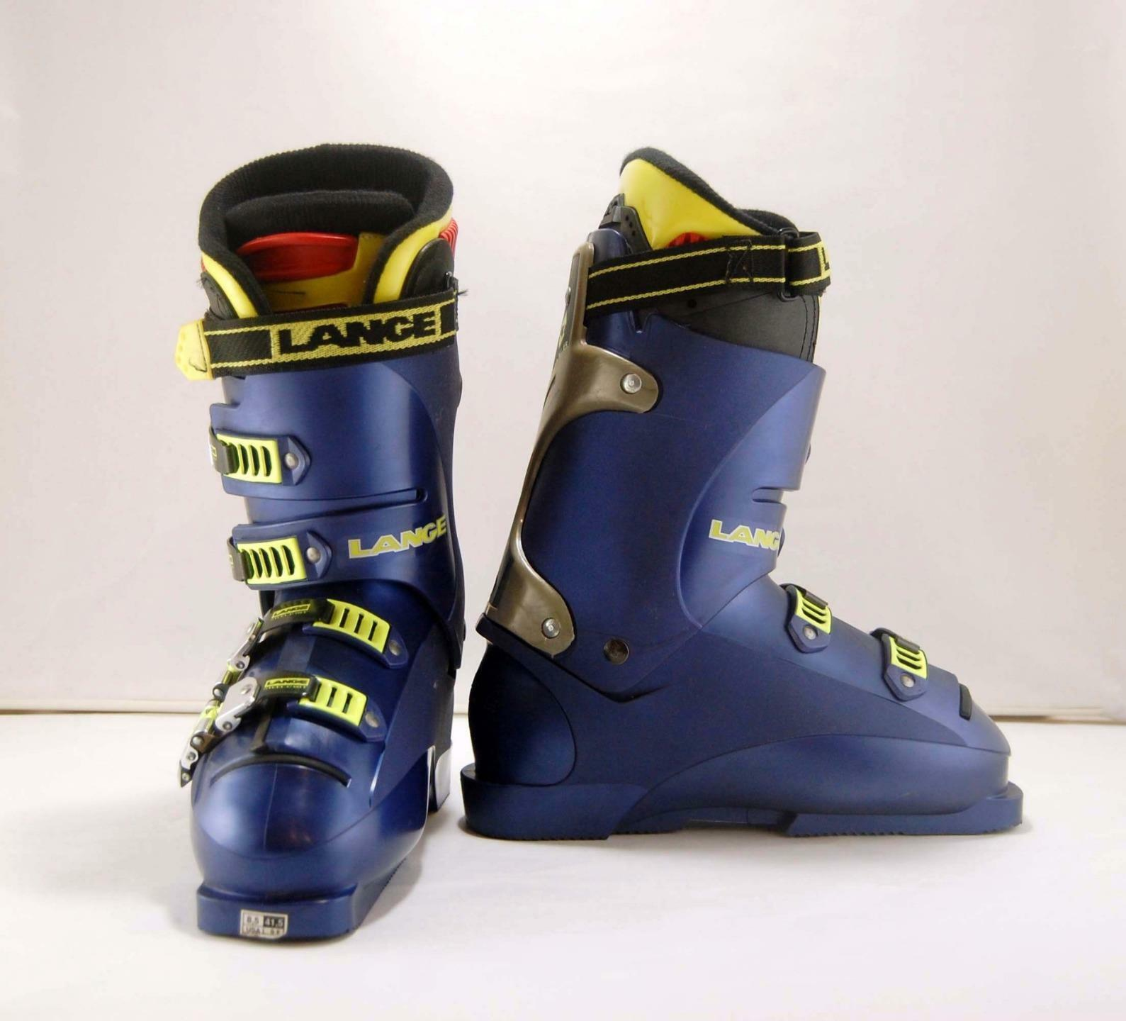 Mens Lange X Zero 9 Downhill Ski Boots bluee Yellow  305 mm Size 8.5 41.5  presenting all the latest high street fashion