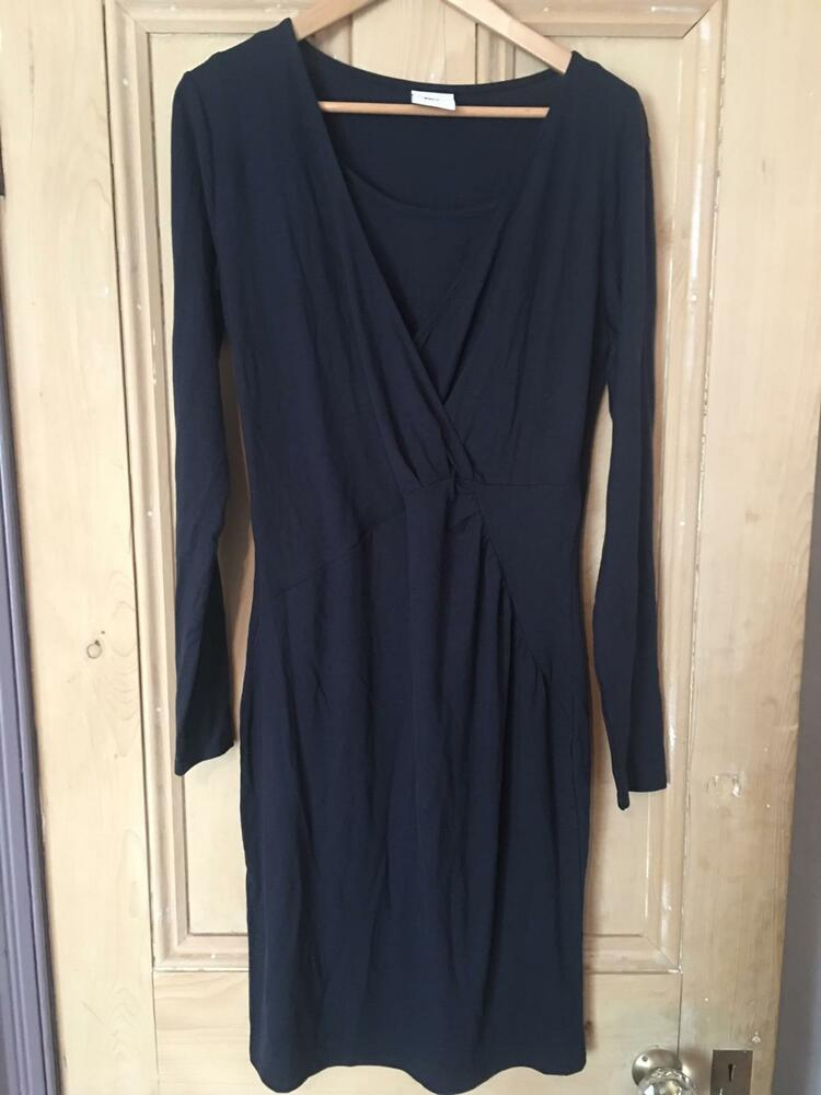 Brand New Navy Maternity Robe Par Mama Licious Taille L