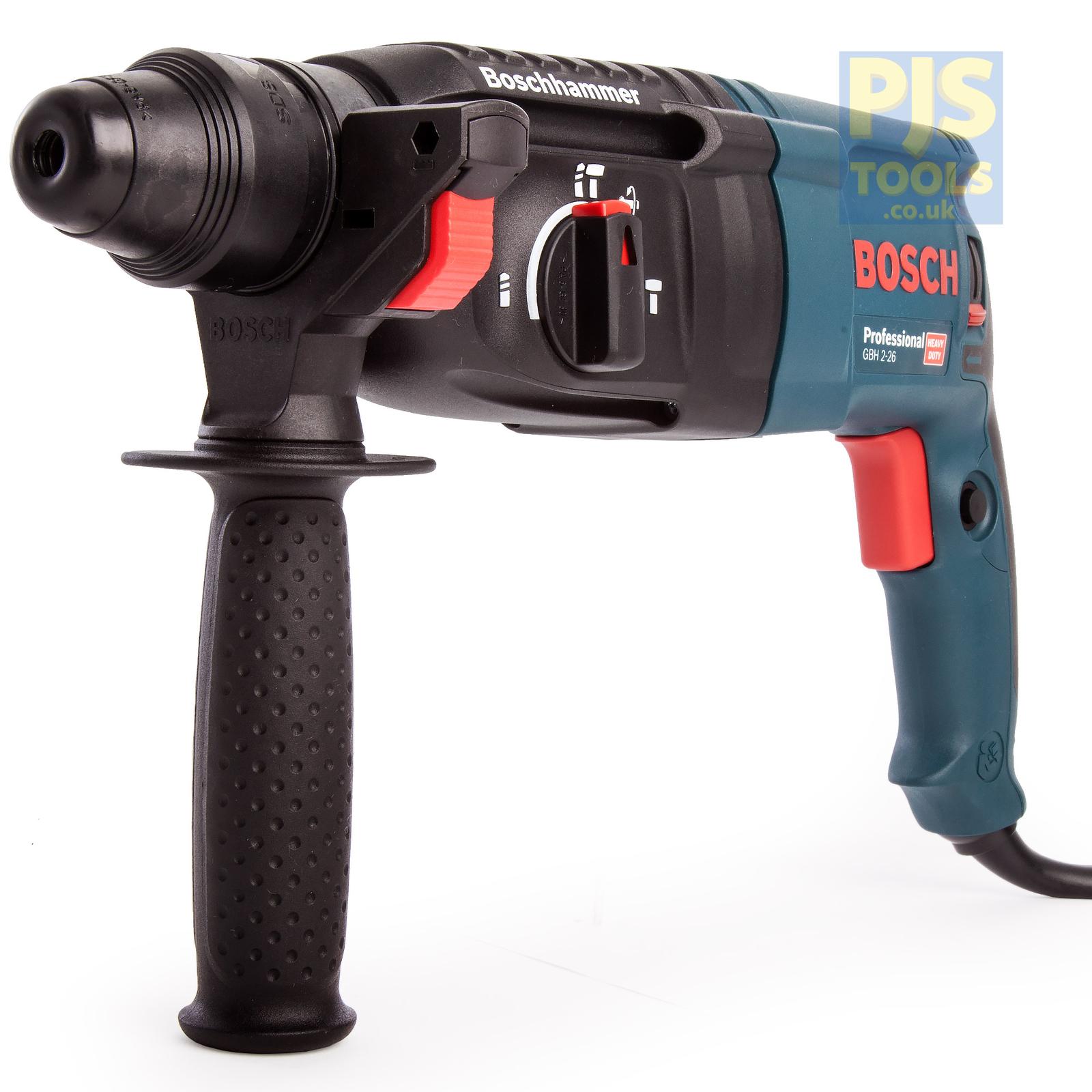 Bosch New GBH2-26 240v sds + roto hammer 3 function 3 year warranty option