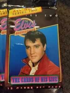 Elvis Presley The Elvis Collection Trading Cards Red Shirt Ebay