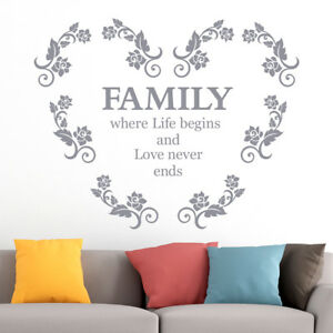 Fhe006ViiET Family home evening prayer song Vinyl Wall Decal Wall Quotes Vinyl Sticker
