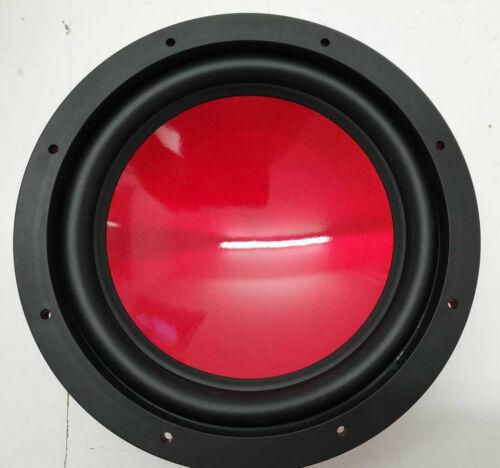 2x 20cm Auto Bass Lautsprecher 200mm Subwoofer 200W rot SoundLab L042K PAAR