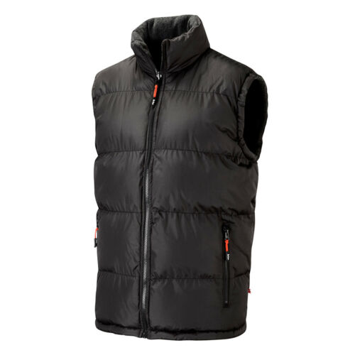 S grigio Taglia Grey Workwear Mens Bodywarmer 3xl Lee Cooper Black Vest Padded Reversible Nero avARRq