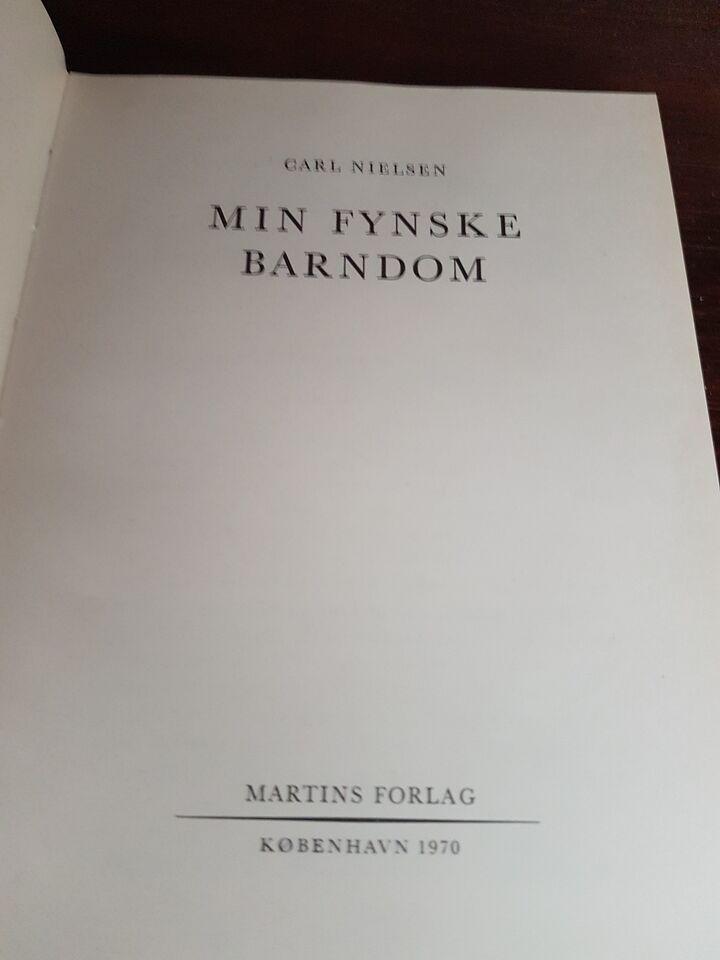 Min fynske barndom, Carl Nielsen, genre: roman