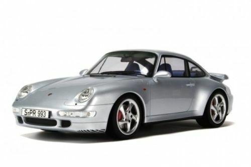 1 12 GT-Spirit  gt014b GT-Spirit 1998 Porsche - 911 993 turbo argento