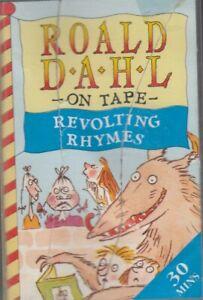 Roald-Dahl-Revolting-Rhymes-Cassette-Audio-Book-Little-Red-Riding-Hood-FASTPOST