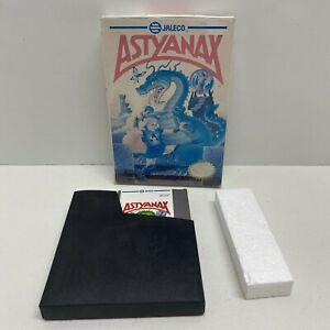 Astyanax Nintendo NES Game W/ box, styrofoam, dustcover - Tested - Fast ship