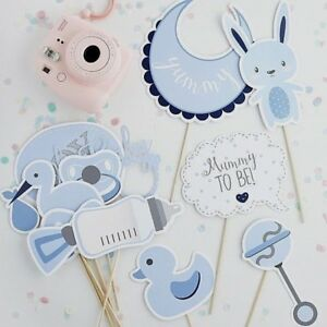 Baby-Shower-Photo-Booth-Props-in-BLUE-x-13-Assorted-props