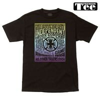 Independent Trucks Watcher Skateboard Shirt Black Xxl on sale