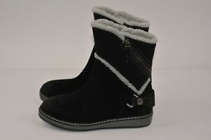 White-Mountain-Women-039-s-Winter-Boots-Teague-Black-Suede-SZ-7-M-B-M