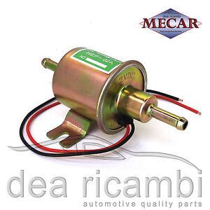 Eléctrica 12v Universal Gasolina Combustible Diesel fump faceta posición flujo Estilo Kit de coche