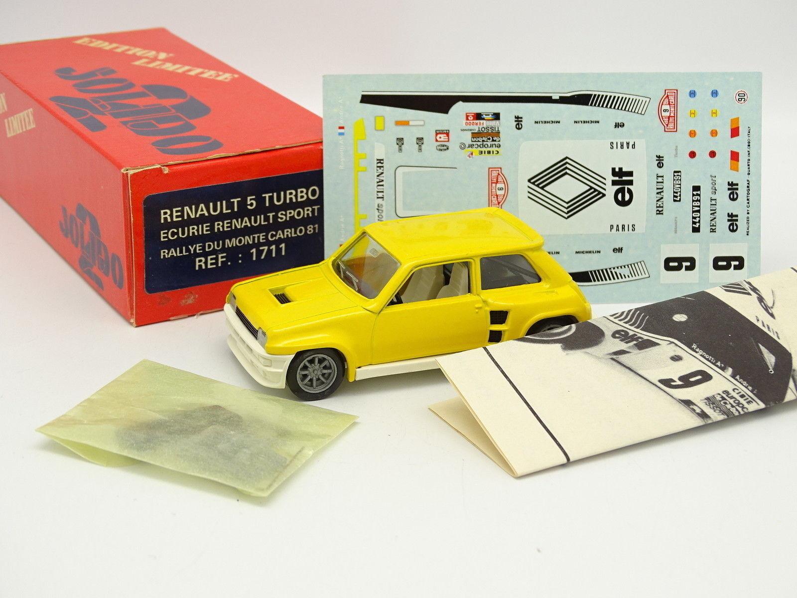 TOP 43 43 43 Kit da montare 1 43 - Renault 5 Turbo Rally Inssize Carlo 1981 ea770f